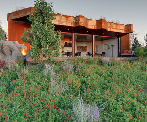 The Joshua Tree Boulder House by Garett Carlson