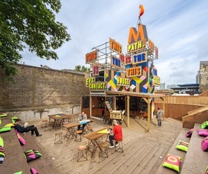 The Movement Caf | Morag Myerscough