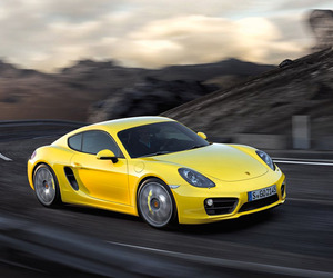 The new Porsche Cayman third generation