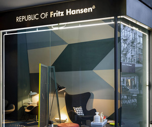 New Republic of Fritz Hansen Store in Milan | Studiopepe