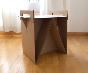The Nit Night Table by Adrian Candela