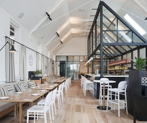 The Old Library restaurant by Hecker Guthrie