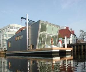 The Silberfisch, Modern Float Home by Confused-Direction