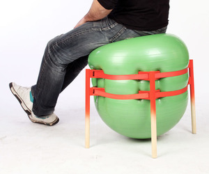 The Stooler by Andreu Carulla for utoopic