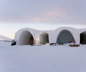 World's Largest Snow and Ice Hotel by Art and Design Group