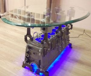 Top Gear Engine Coffee Table |  Andrejs Isajevs