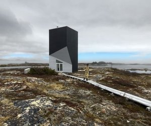 Tower Studio on Fogo Island by Saunder Architects