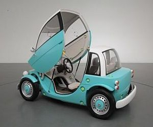 Toyota Camatte Concept takes kids' car to a new high