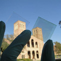 Transparent-glass-solar-cell-s
