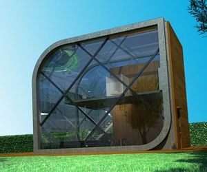 Transsolar: Futuristic, Solar Powered Home