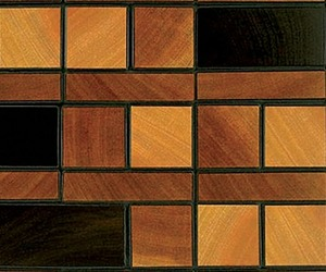 Treeborn Mosaic End-Grain Wood Flooring
