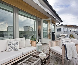 Trendy Swedish flat on the island of Lilla Essingen