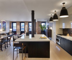 TriBeCa Loft Transformed | Dirk Denison Architects 