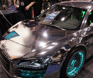 Tron-themed Audi R8 by West Coast Customs and Monster Cables