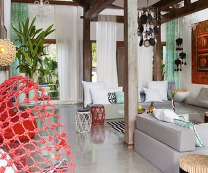 Tropical Bali Retreat with Exotic Colors: Lalaland