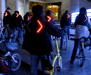 Turn Signal Bike Jacket