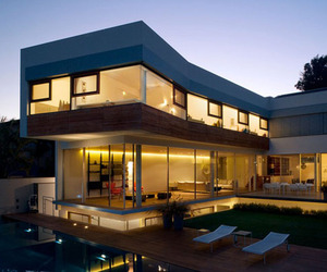 Two-Level Contemporary Home by Fine-Arc