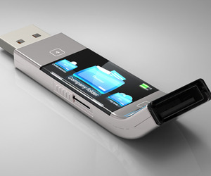 U Transfer USB Stick Concept