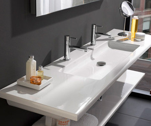Ultra-modern-flat-bathroom-sinks-by-laufen-m