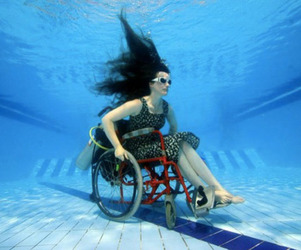Underwater Wheelchair Exploration | Sue Austin