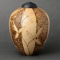 Urn-with-bamboo-motif-s