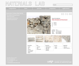 UT SOA Materials Lab