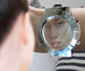 Vanity Mirror Watch