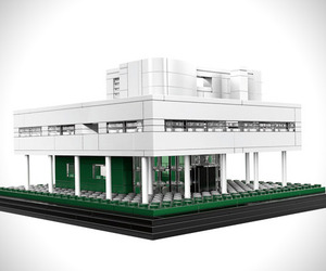 Villa Savoye by LEGO Architecture