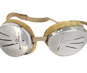 Vintage-aluminum-military-ski-goggles-m