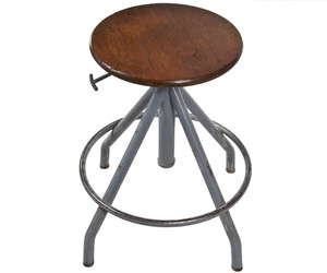 Vintage-french-adjustable-drafting-stool-at-reliquecom-m
