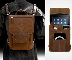 Vintage Leather iPad Flight Jacket