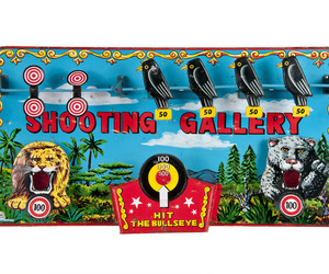 Vintage Marx Toys Tin Shooting Gallery Target at Relique.com