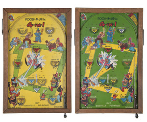 Vintage Northwestern Pinball Poosh-M-Up Bagatelle Game