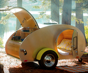 Vintage Teardrop Trailer