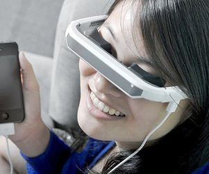 Virtual Digital Video Glasses