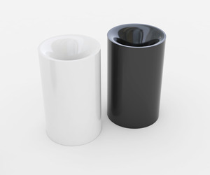 vortex - salt and pepper shakers by moloko