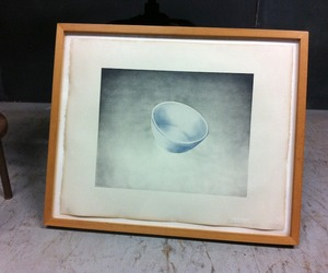 Domestic Tranquility Series Bowl Litho by Ed Ruscha