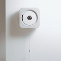 Wall-mounted-cd-player-by-naoto-fukasawa-for-muji-s