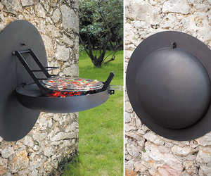 Wall-mounted-grill-m