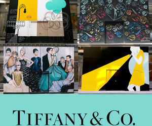 Wall Murals On Tiffany &amp; Co. New Soho Store