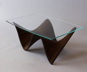 Wave Series Tables by Merganzer Furniture