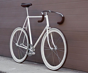 White fixed gear
