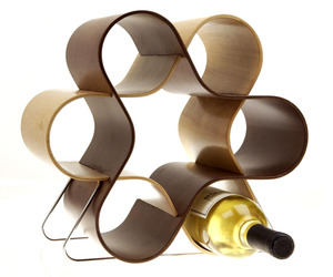 Wine Knot Unique Wine Rack by Mint