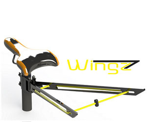 Wingz - The Revolutionary Bicycle Seatpost Rack