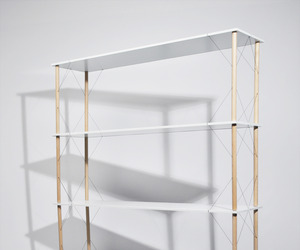 Wired Shelf by Siyuan Zhang