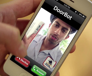 Wireless-doorbell-camera-doorbot-m