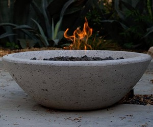 Wok-fire-pit-by-potted-m