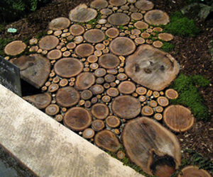 ... wood-slice-walkway-m.jpg?1245246575 & Round Wood Pavers - General Woodworking Talk - Wood Talk Online