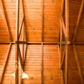 Wood-truss-vaulted-ceiling-s