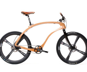 Wooden bike by Waldmeister